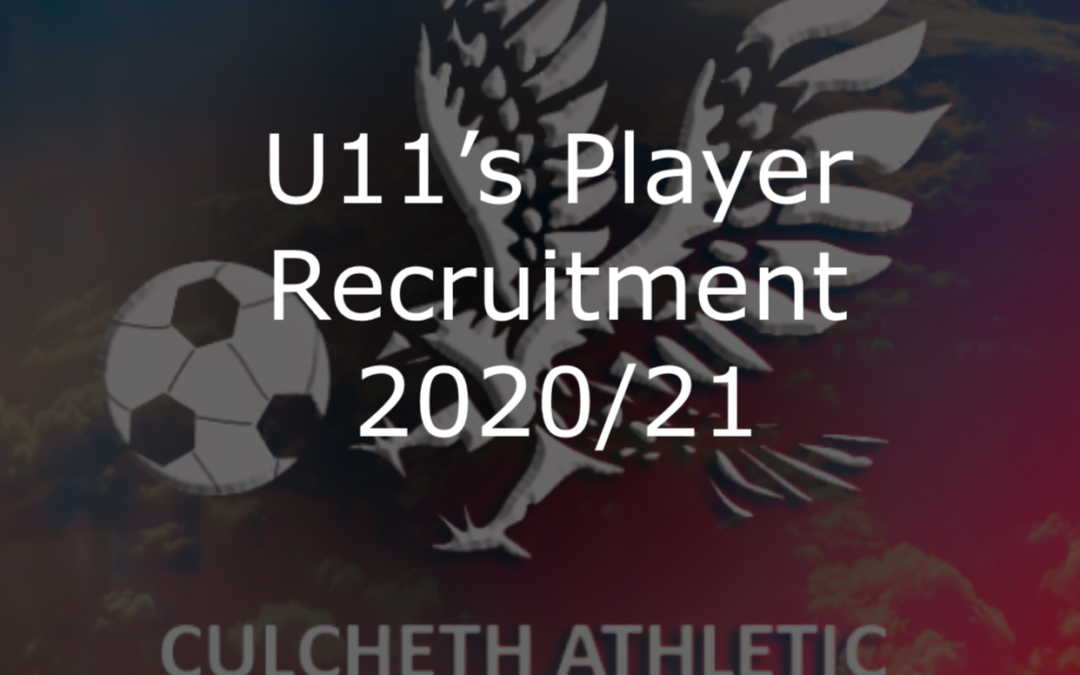 U11's Player Recruitment